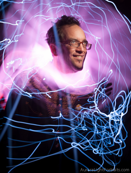 Mad Scientist light painting